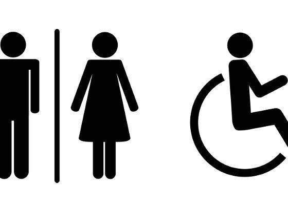 Wyposażenie toalety ogólnodostępnej