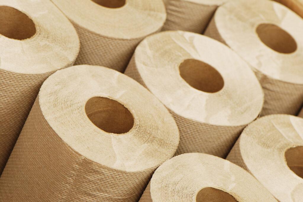 Sposoby przechowywania czyściw papierowych