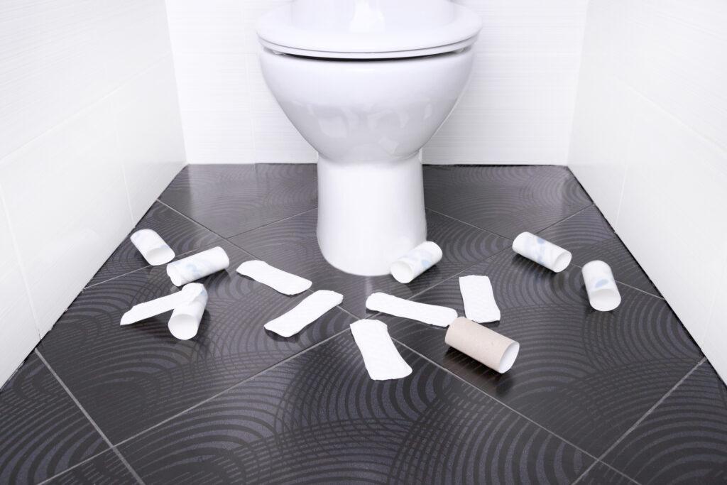 Toaletowe podkładki higieniczne. Gdzie, kiedy i dla kogo?