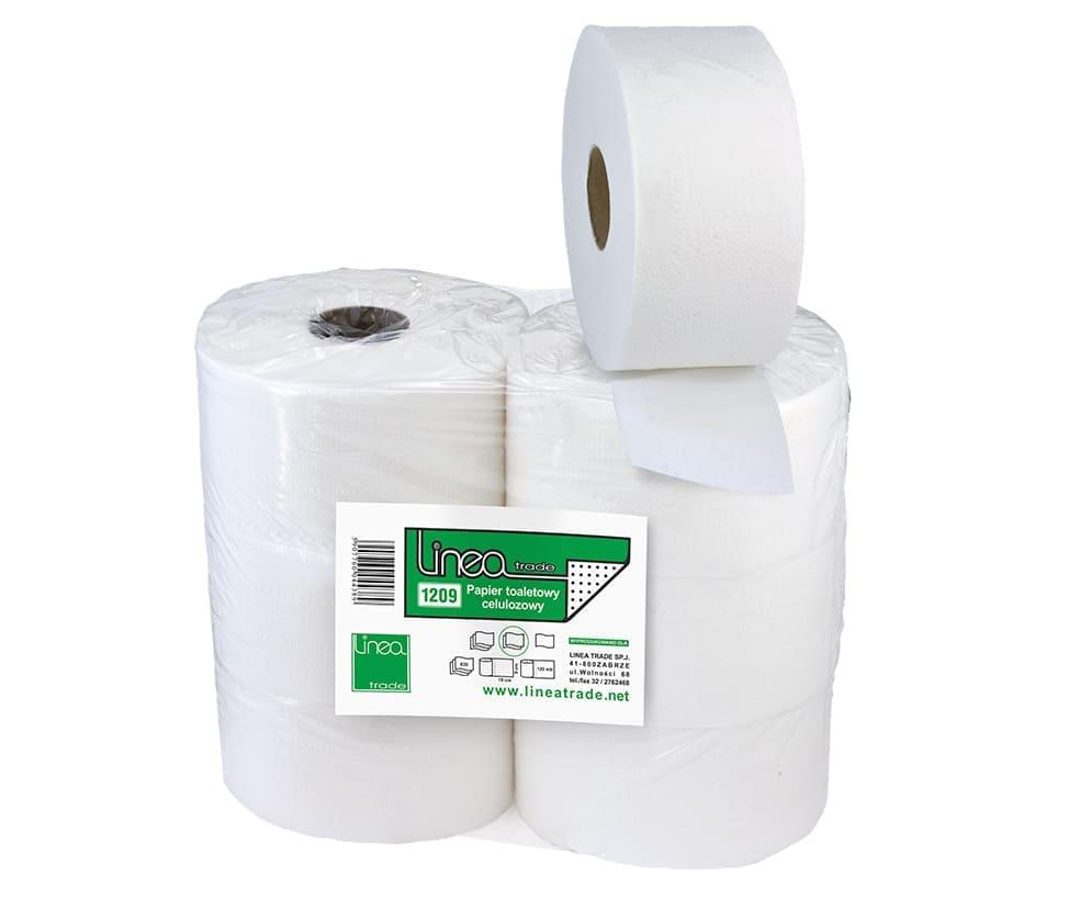 Papier toaletowy - JUMBO CELULOZA FI 19 - 1209
