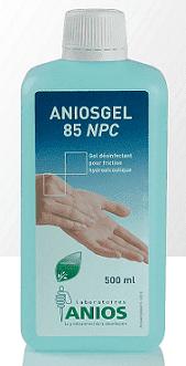 Anios gel 85 NPC - higieniczna i chirurgiczna dezynfekcja rąk