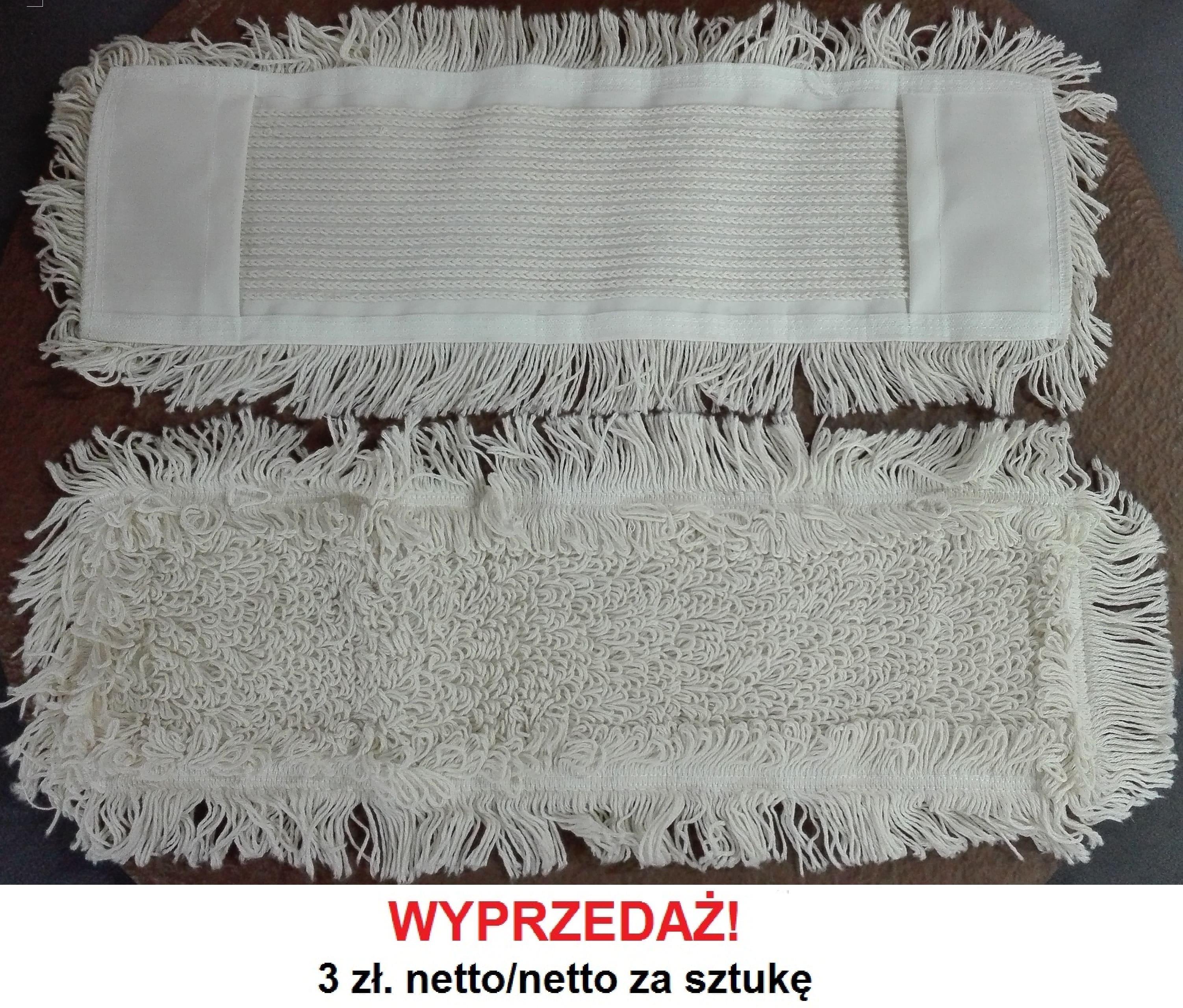 Mop kieszeń, bawełniany pętelkowy  5850EC