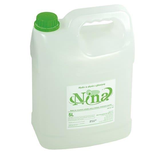 Toaletowe mydło w płynie z gliceryną NINA