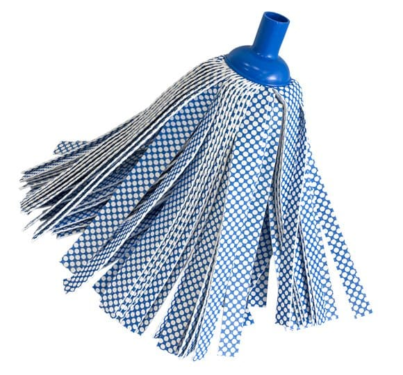 Strip blue mop 100510