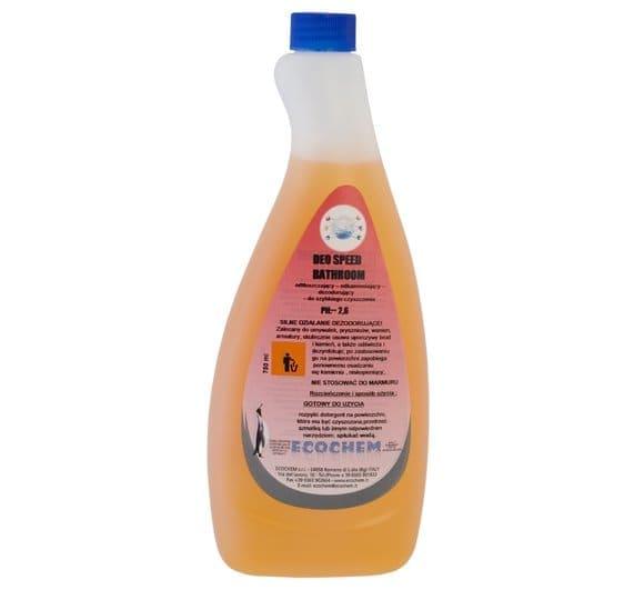LT 1000 - DEO SPEED BATHROOM - Odświeżający środek do mycia i czyszczenia powierzchni sanitarnych