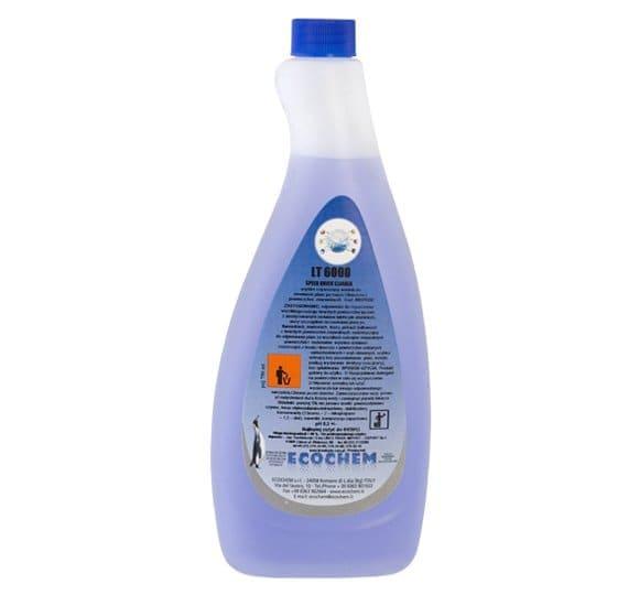 LT 6000 - Szybko czyszczący środek do usuwania plam po tuszu i tłuszczu z powierzchni zmywalnych