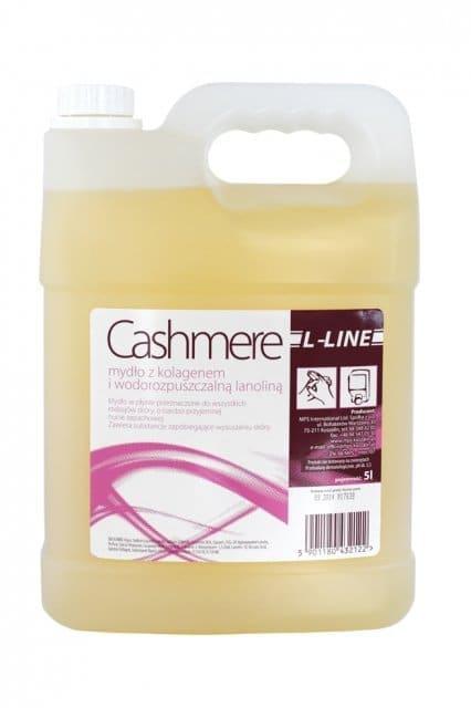Mydło z gliceryną, kolagenem, lanoliną i elastynąL-Line Cashmere