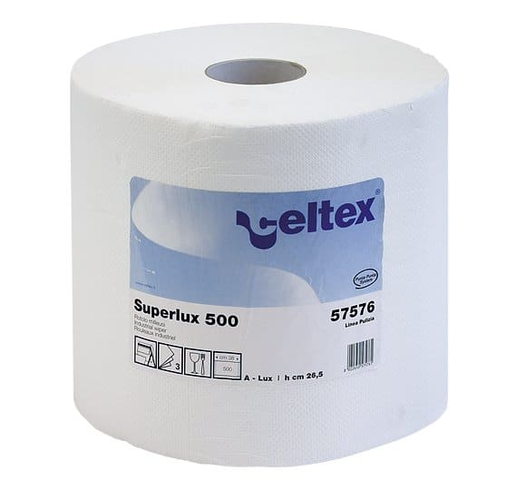 White cellulose cleaning towel SUPER LUX