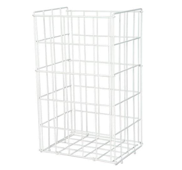 Openwork metal standing basket KA 47