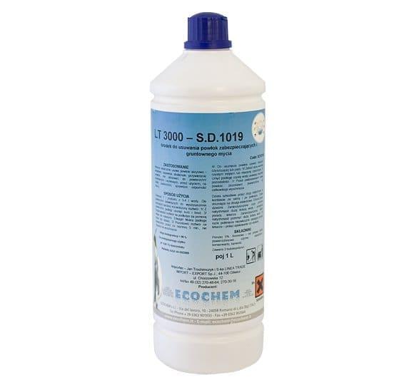 LT 3000 - Środek do usuwania powłok zabezpieczających i gruntownego mycia