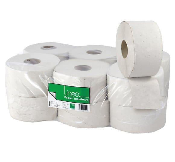 Papier toaletowy - LINEA szary