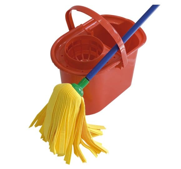 Bucket with a squeezer 460
